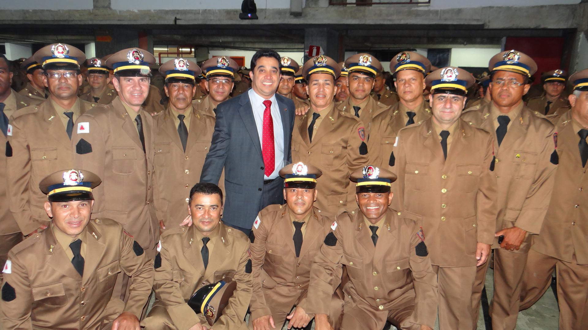 Deputado Sargento Rodrigues participa da formatura do CEFS 2013 99d44f723a0