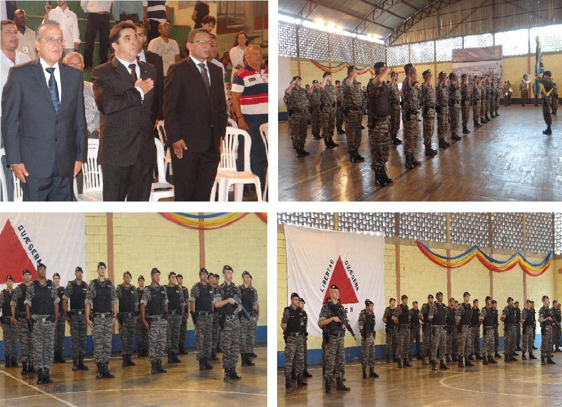 O deputado Sargento Rodrigues participou da solenidade de comemoração do  13º aniversário do Batalhão de Rondas Táticas Metropolitanas (ROTAM) nesta  ... d180222bc8a